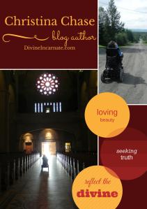 Christina Chase, Divine Incarnate, Blog