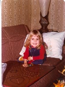 Christina playing Tuck